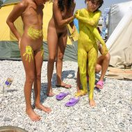 We Are Nudist Sun Yellow