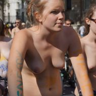 World Naked Bike Ride (WNBR) 2012 Part 2
