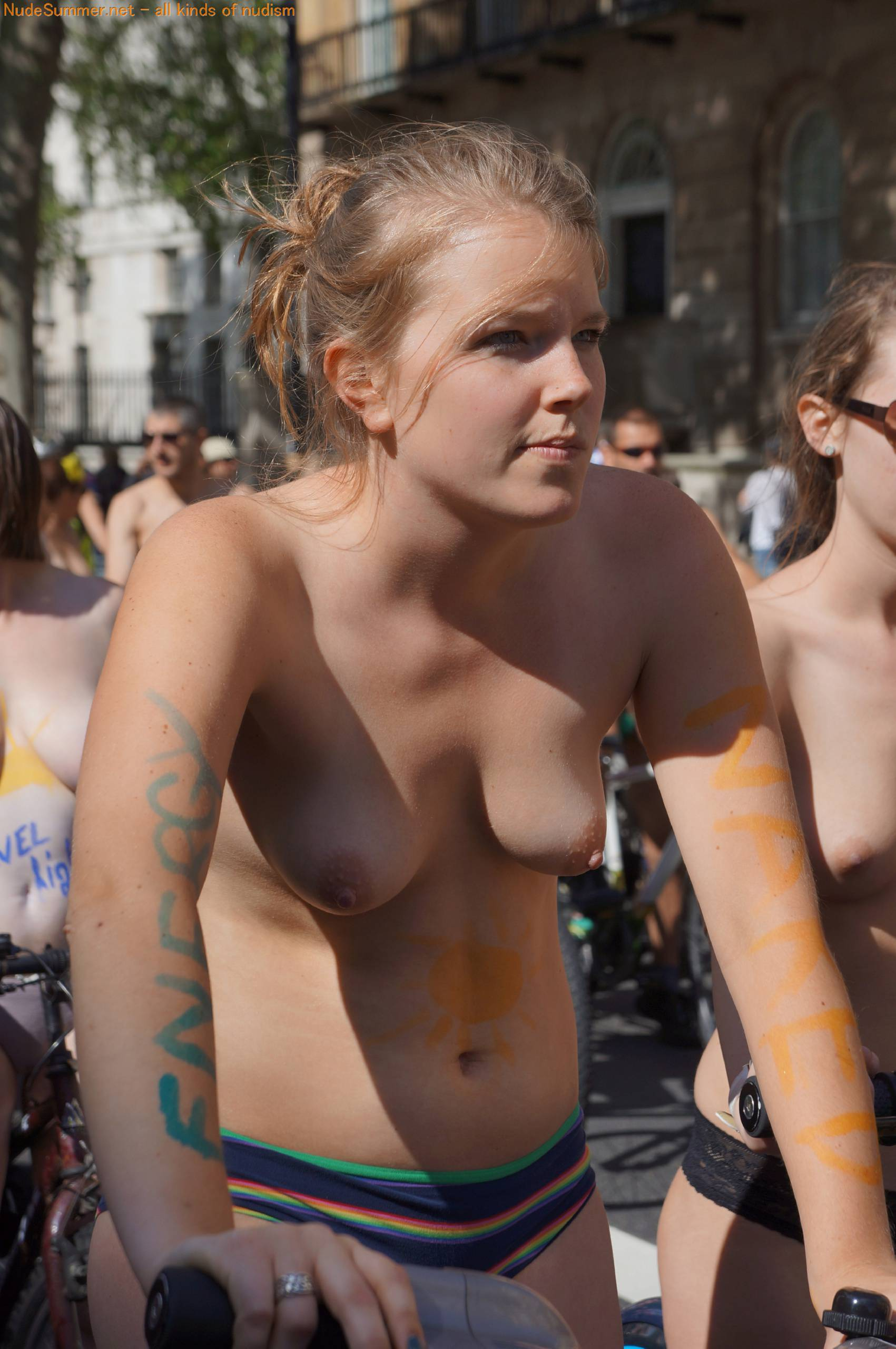 Nudist Pictures World Naked Bike Ride (WNBR) 2012 Part 2 - 1