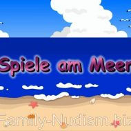 Spiele am Meer Video from Naturistin.com studio