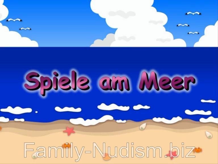 Spiele am Meer Naturistin.com