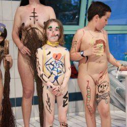 Purenudism Halloween Pool Party - 1